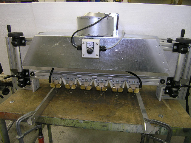 HSGM polystyreen (vloerverwarming) snijtafel vb1